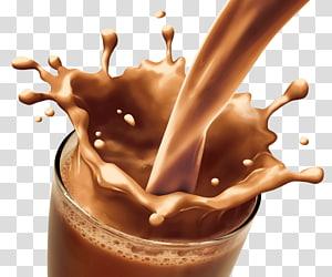 Verre clair avec liquide brun à l'intérieur, Sandwich au chocolat au lait au chocolat Gâteau au chocolat à boire, boissons au chocolat png