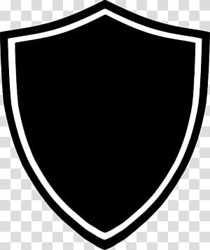 Logo Shield, logo noir, logo blanc et noir png