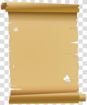 illustration de défilement vide, rouleau de papier, vieux papier parchemin gratuit png