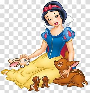 Illustration de Disney Princesse Blanche-Neige, Walt Disney Blanche-Neige et les Sept Nains Miroir Magique Evil Queen, Blanche-Neige et les sept nains png