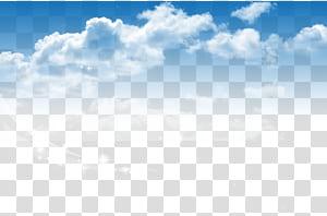 Affiche de service de publicité, Baiyun, ciel bleu png