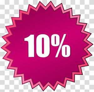 10% illustration, 10 hors vente étiquette png