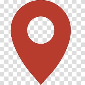 icône de localisation de carte rouge, systèmes de navigation GPS Icônes de l'ordinateur Graphiques évolutifs Système de positionnement global, icône de localisation de carte rouge png
