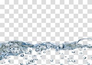 illustration de l'eau, bulles d'eau png