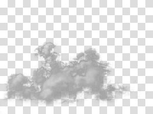 Brouillard de fumée, fichier de brouillard, illustration de nuage blanc png