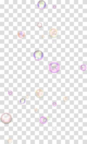 Bouton en mousse, jolies bulles, bulles de couleurs assorties sur fond bleu png