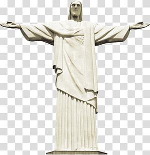 Statue du Christ Rédempteur Rio De Janeiro Brésil, Statue du Christ Rédempteur Corcovado, Comme Jésus à Rio de Janeiro png