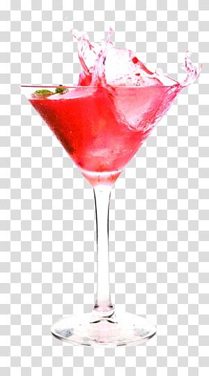 verre à martini transparent, jus de gâteau au chocolat Cocktail Margarita Boisson distillée, cocktail rouge png