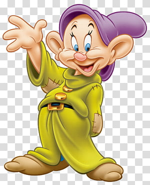 Dopey Mickey Mouse Sept Nains, Dopey, Blanche-Neige et le Sept Nain png