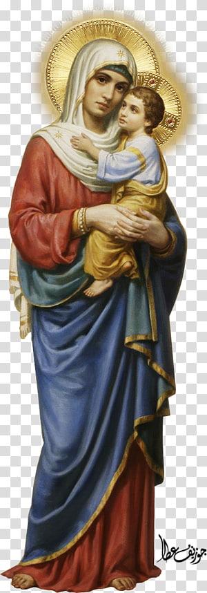 Marie Jésus prière dans l'Église catholique Saint, Marie png
