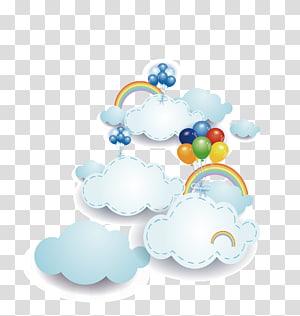 Nuage informatique euclidienne, nuage, illustration de nuages png