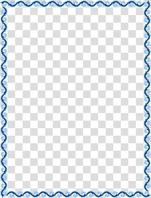 Blue Element, contour de la bordure bleue, vignes bleues png