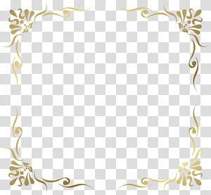 cadre, bordure de cadre décoratif, illustration de modèle de cadre brun png