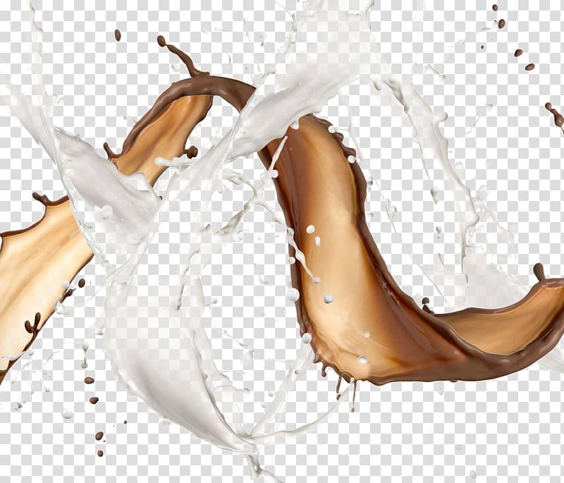 Milkshake Lait au chocolat Lait aromatisé, Chocolat au lait png