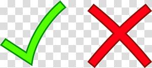 Coche Marque X Croix, Croix Rouge, icônes correctes et incorrectes png