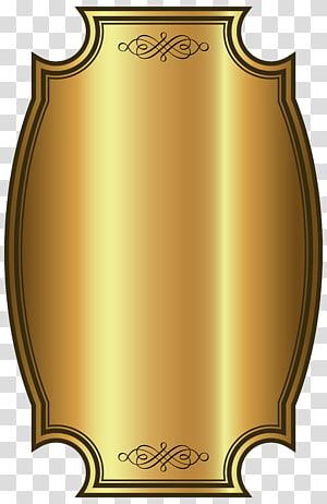 illustration de bouclier plaqué or, étiquette de whisky doré, modèle d'étiquette de luxe doré png