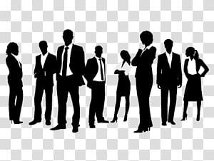 silhouettes de costumes, marketing numérique, gestion des entreprises de publicité, gens d'affaires png