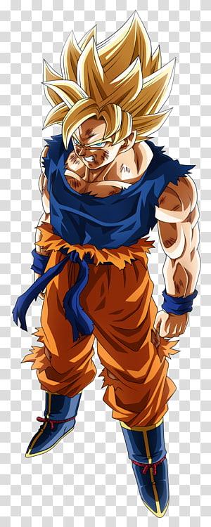 Illustration de San Goku, Goku Vegeta Super Saiya Saiyan Dragon Ball, goku png