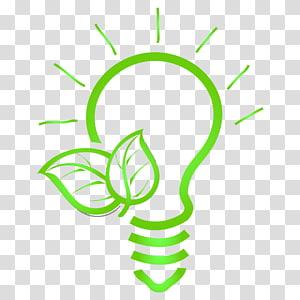 ampoule verte et illustration de feuilles, protection de l'environnement Environnement naturel vert, énergie et protection de l'environnement png