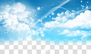 Ciel Dessin Animation, Animation peint ciel, ciel png