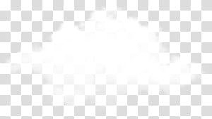Point de marque noir et blanc, nuage réaliste, nuages blancs png