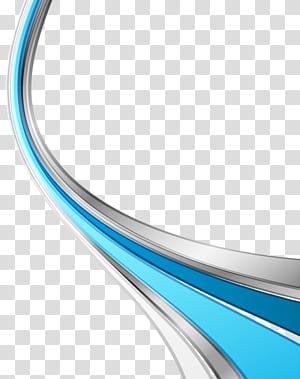 Icône de courbe géométrique, matériau de base de texture géométrique, gris et bleu png