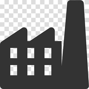 bâtiment blanc illustration, Computer Icons Factory Industry, Factory Icon Free png