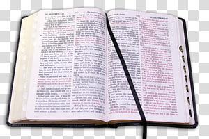 Gros plan de la Bible ouverte, étude biblique prière du Nouveau Siècle, Bible sainte png