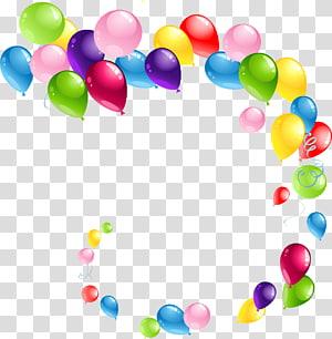 Balloon, Balloons 6, lot de ballons de couleurs assorties png