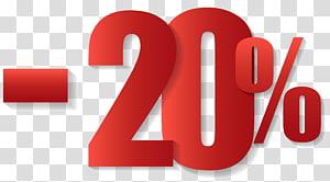 Coupon de vente, 20% de réduction sur la vente, 20% de moins png