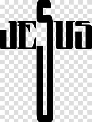 Croix chrétienne Typographie Religion, chrétien png