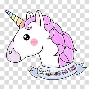 Licorne rose et blanche, Licorne, Tas de Poo emoji, dessin autocollant, Licorne png