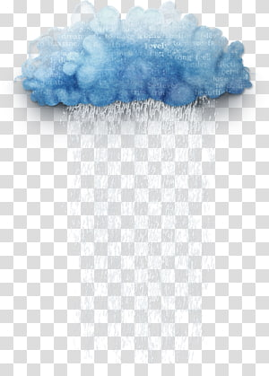 illustration de nuages bleus et blancs, nuage, nuage png