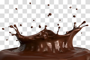 Illustration au chocolat, chocolat au lait au chocolat Splash, chocolat Splash Pic png