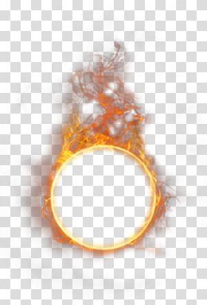 Feu Flamme Combustion Lumière, Flamme brûlant de feu, anneau de feu png