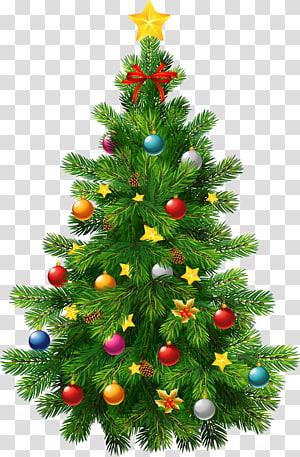 Arbre de Noël ornement de Noël, grand arbre de Noël déco, vert autocollant arbre de Noël png