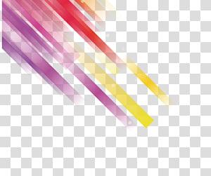 résumé jaune, rouge et violet, Science et technologie Science et technologie Euclidienne, Fond coloré de technologie png