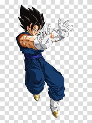 Illustration de Vegetto, Vegeta Goku Majin Buu Dragon Ball Super Saiya, dragon ball z png