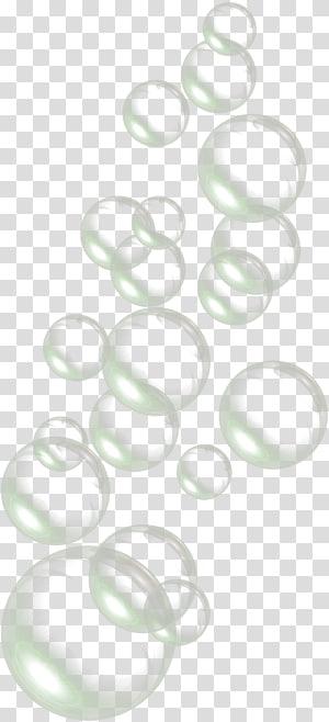 , Gouttes, de, bulles eau, cercle, illustration png