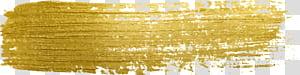 Paint Gold, peinture à paillettes dorées png