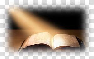 livre ouvert sur le dessus en bois, étude biblique Le message Texte religieux, dessins bibliques png
