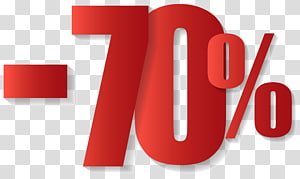 -70% signage, Soldes T-shirt Vêtements Accessoire de mode, -70% png