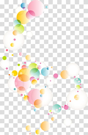 Illustration géométrique de cercle géométrique, cercle de point géométrique abstrait coloré, illustration de cercles de couleurs assorties png
