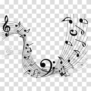 notes de musique, note de musique Clé d'état-major png