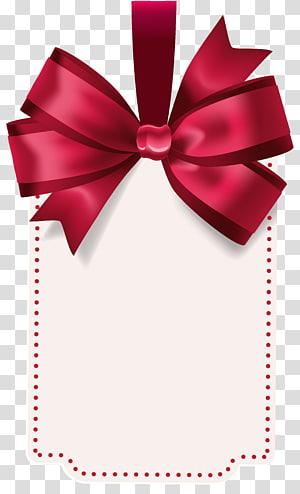 illustration de carte d'invitation blanche et rouge, arc et flèche, étiquette avec modèle arc rouge png