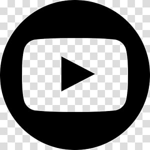 Logo YouTube Computer Icons, youtube, bouton de lecture noir png
