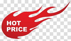 Ventes d'autocollants, autocollant de feu prix chaud, texte de prix chaud blanc avec illustration de fond de flamme rouge png