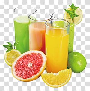 Jus d'orange Boisson gazeuse, jus de fruits frais, jus dans des verres à boire png