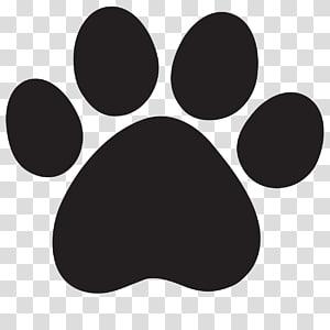 logo de patte noire, Chat Lion Cougar, empreinte de patte png