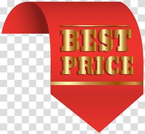 Meilleur prix texte illustration, étiquette prix autocollant, meilleur prix étiquette rouge png